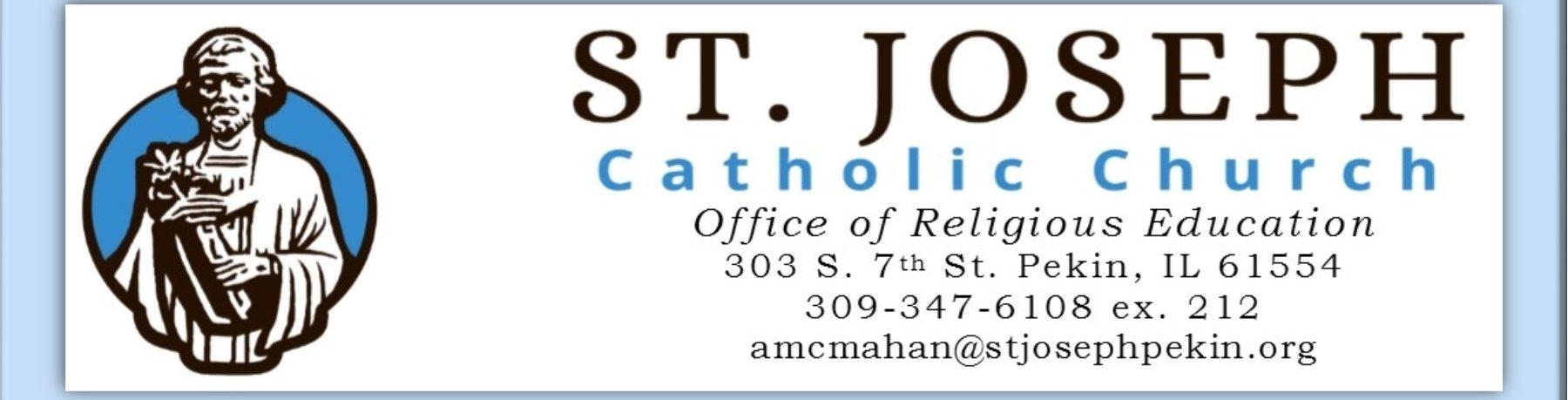CCD – Religious Education of Children – St  Joseph Catholic